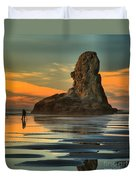 Bandon Photographer Duvet Cover