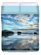 Bandon Rock Garden Duvet Cover