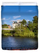 Bandstand View Duvet Cover