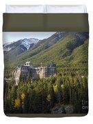 Banff Fairmont Springs Hotel Duvet Cover