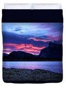 Banff Sunrise  Duvet Cover