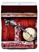 Banjo Mandolin - American Music Duvet Cover