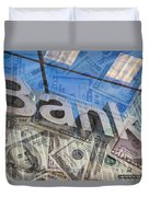 Bank Duvet Cover