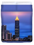 Bank Of America Plaza Duvet Cover