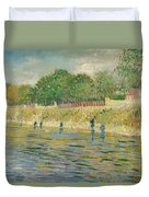 Bank Of The Seine Duvet Cover