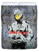 Banksy  Duvet Cover