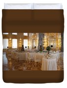 Banquet Room Summer Palace St Petersburg Russia Duvet Cover