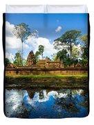 Banteay Srei - Angkor Wat - Cambodia Duvet Cover