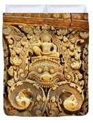 Banteay Srei Carving 01 Duvet Cover