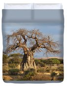 Baobab Tree Ruaha Np Tanzania Duvet Cover