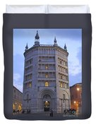 Baptistery Of Parma Duvet Cover