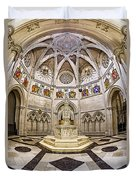 Baptistry At Saint John The Divine Cathedral Duvet Cover