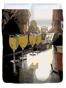 Bar Scene - Absinthe At Pirates Alley Duvet Cover