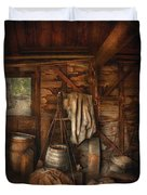 Bar - Weighing The Hops Duvet Cover by Mike Savad