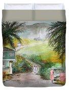 Barbados Duvet Cover