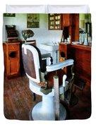 Barber - Barber Chair And Cash Register Duvet Cover