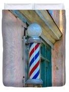 Barber Pole Duvet Cover