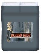 Barber Shop - Photopower Duvet Cover