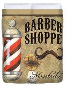 Barber Shoppe 1 Duvet Cover