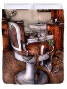 Barber - The Barber Chair Duvet Cover
