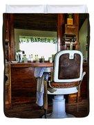 Barber - The Barber Shop Duvet Cover