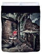 Barber's Chair Duvet Cover