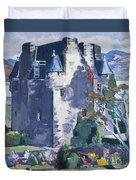 Barcaldine Castle Duvet Cover