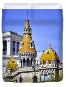 Barcelona Architecture Duvet Cover