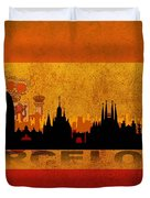 Barcelona City Duvet Cover