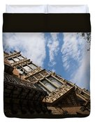 Barcelona's Marvelous Architecture - Avenue Diagonal Facade Duvet Cover