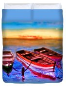 Barche Duvet Cover