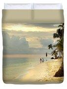 Barefoot On The Beach Duvet Cover