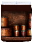 Barista - Coffee - Coffee And Spice Duvet Cover by Mike Savad