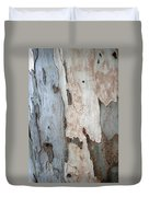 Bark Of A Eucalyptus Tree Duvet Cover