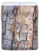 Bark On A Tree In The Desert In Sedona Duvet Cover