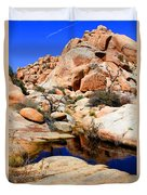 Barker Dam Big Horn Dam By Diana Sainz Duvet Cover