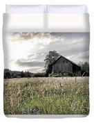 Barn And Grass Duvet Cover