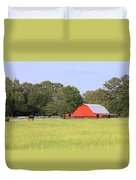 Barn And Pasture Duvet Cover