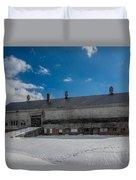 Barn At Amhi   7k00315 Duvet Cover by Guy Whiteley