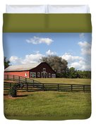 Barn At Yonah Mountain Winery 001 Duvet Cover