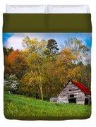 Barn Colors Duvet Cover