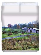 Barn - End Of The Road Duvet Cover