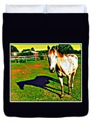 Barn Horse Duvet Cover