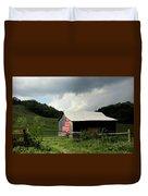 Barn In The Usa Duvet Cover