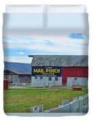 Barn - Mail Pouch Tobacco Duvet Cover