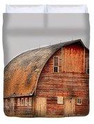 Barn On The Hill Duvet Cover