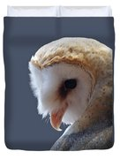 Barn Owl Dry Brushed Duvet Cover