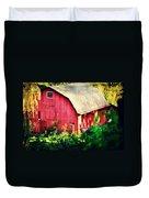 Barn Red Sunset Duvet Cover
