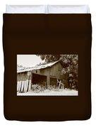 Barn Sepia 2 Duvet Cover