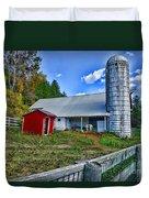 Barn - The Old Horse Duvet Cover